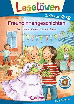 Leselöwen 2. Klasse - Freundinnengeschichten, Sonja Maren Kientsch