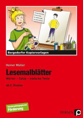 Lesemalblätter, Heiner Müller