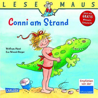 Lesemaus - Conni am Strand, Wolfram Hänel, Eva Wenzel-Bürger