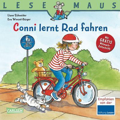 Lesemaus - Conni lernt Rad fahren, Liane Schneider, Eva Wenzel-Bürger