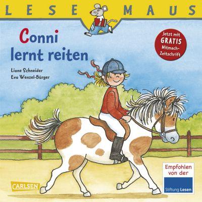 Lesemaus - Conni lernt reiten, Liane Schneider, Eva Wenzel-Bürger