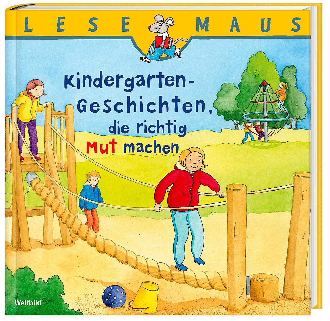 sports shoes 69154 ae2a8 Lesemaus Kindergarten-Geschichten, die richtig Mut machen ...