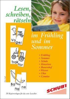 Lesen, schreiben, rätseln im Frühling und im Sommer, Doris Senff
