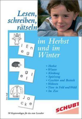 Lesen, schreiben, rätseln im Herbst und im Winter, Doris Senff
