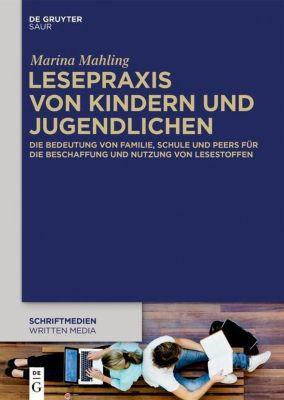 Lesepraxis von Kindern und Jugendlichen, Marina Mahling