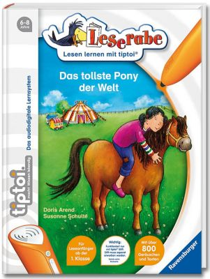 Leserabe tiptoi® Band 1: Das tollste Pony der Welt, Doris Arend, Susanne Schulte