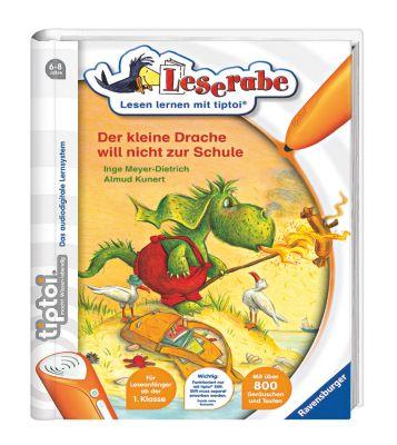 Leserabe tiptoi® Band 4: Der kleine Drache will nicht zur Schule, Inge Meyer-Dietrich, Almud Kunert