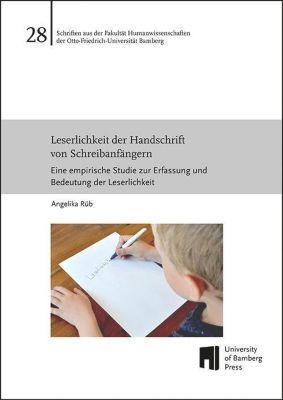 Leserlichkeit der Handschrift von Schreibanfängern - Angelika Rüb pdf epub