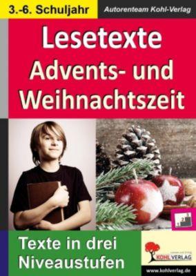 Lesetexte ADVENTS- & WEIHNACHTSZEIT