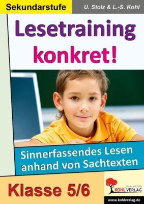Lesetraining konkret!  /  5.-6. Schuljahr, Ulrike Stolz, Lynn-Sven Kohl