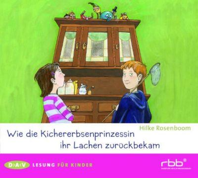 Lesung für Kinder: Wie die Kichererbsenprinzessin ihr Lachen zurückbekam, Hilke Rosenboom