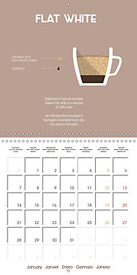 Let s take a coffee break (Wall Calendar 2019 300 × 300 mm Square) - Produktdetailbild 1