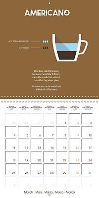 Let s take a coffee break (Wall Calendar 2019 300 × 300 mm Square) - Produktdetailbild 3