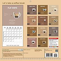 Let s take a coffee break (Wall Calendar 2019 300 × 300 mm Square) - Produktdetailbild 13