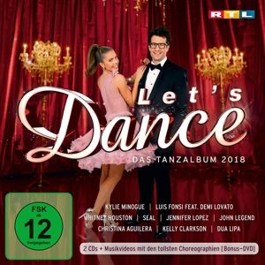 Let's Dance - Das Tanzalbum 2018 (2 CDs + DVD), Various