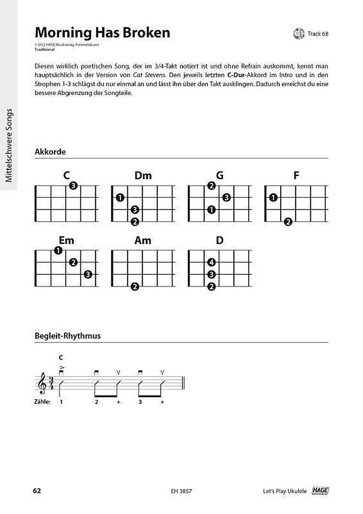 einfache ukulele songs