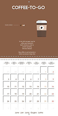 Let's take a coffee break (Wall Calendar 2019 300 × 300 mm Square) - Produktdetailbild 6