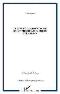 Lettres de catherine de saint-pierre a s, SPAAS LIEVE