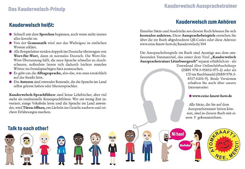 Lëtzebuergesch Wort Für Wort Für Luxemburg Buch Weltbildch