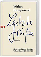 Letzte Grüße, Walter Kempowski