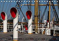 Letztes deutsches Vollschiff: Das Schulschiff Deutschland (Tischkalender 2019 DIN A5 quer) - Produktdetailbild 9