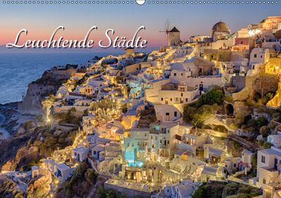 Leuchtende Städte (Wandkalender 2019 DIN A2 quer), Thomas Klinder