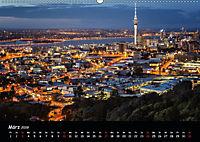 Leuchtende Städte (Wandkalender 2019 DIN A2 quer) - Produktdetailbild 3