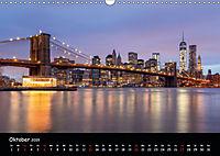 Leuchtende Städte (Wandkalender 2019 DIN A3 quer) - Produktdetailbild 10