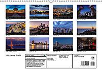 Leuchtende Städte (Wandkalender 2019 DIN A3 quer) - Produktdetailbild 13