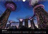 Leuchtende Städte (Wandkalender 2019 DIN A4 quer) - Produktdetailbild 4
