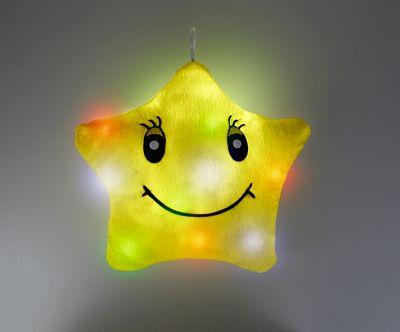 Leuchtkissen Stern