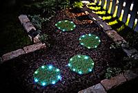 Leuchtrasen-Matten mit Solar, 4er-Set - Produktdetailbild 1