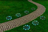 Leuchtrasen-Matten mit Solar, 4er-Set - Produktdetailbild 2