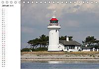 Leuchttürme und Leuchtfeuer an der Ostsee (Tischkalender 2019 DIN A5 quer) - Produktdetailbild 1