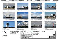 Leuchttürme und Leuchtfeuer an der Ostsee (Wandkalender 2019 DIN A2 quer) - Produktdetailbild 13