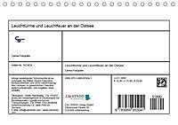 Leuchttürme und Leuchtfeuer an der Ostsee (Tischkalender 2019 DIN A5 quer) - Produktdetailbild 13