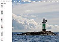 Leuchttürme und Leuchtfeuer an der Ostsee (Tischkalender 2019 DIN A5 quer) - Produktdetailbild 5