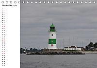 Leuchttürme und Leuchtfeuer an der Ostsee (Tischkalender 2019 DIN A5 quer) - Produktdetailbild 11