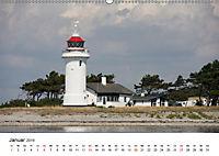 Leuchttürme und Leuchtfeuer an der Ostsee (Wandkalender 2019 DIN A2 quer) - Produktdetailbild 1