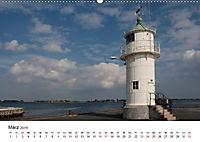 Leuchttürme und Leuchtfeuer an der Ostsee (Wandkalender 2019 DIN A2 quer) - Produktdetailbild 3