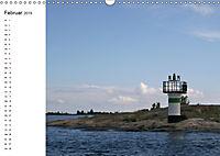 Leuchttürme und Leuchtfeuer an der Ostsee (Wandkalender 2019 DIN A3 quer) - Produktdetailbild 2
