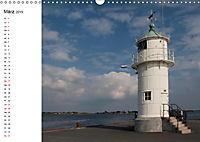 Leuchttürme und Leuchtfeuer an der Ostsee (Wandkalender 2019 DIN A3 quer) - Produktdetailbild 3