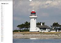 Leuchttürme und Leuchtfeuer an der Ostsee (Wandkalender 2019 DIN A3 quer) - Produktdetailbild 1