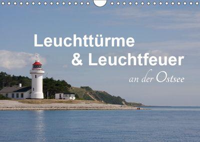 Leuchttürme und Leuchtfeuer an der Ostsee (Wandkalender 2019 DIN A4 quer), Carina-Fotografie