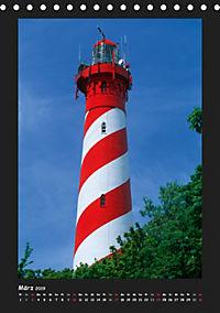 Leuchttürme - Wahrzeichen der Seefahrt (Tischkalender 2019 DIN A5 hoch) - Produktdetailbild 3