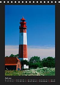 Leuchttürme - Wahrzeichen der Seefahrt (Tischkalender 2019 DIN A5 hoch) - Produktdetailbild 7