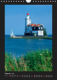 Leuchttürme - Wahrzeichen der Seefahrt (Wandkalender 2019 DIN A4 hoch) - Produktdetailbild 2