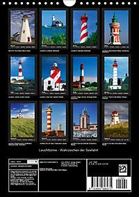 Leuchttürme - Wahrzeichen der Seefahrt (Wandkalender 2019 DIN A4 hoch) - Produktdetailbild 13