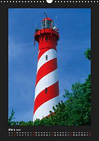 Leuchttürme - Wahrzeichen der Seefahrt (Wandkalender 2019 DIN A3 hoch) - Produktdetailbild 3