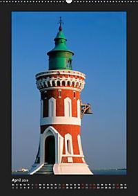 Leuchttürme - Wahrzeichen der Seefahrt (Wandkalender 2019 DIN A2 hoch) - Produktdetailbild 4